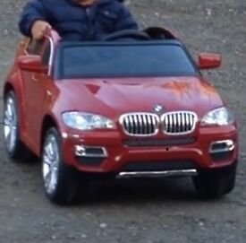 BMW X6 battery operated car