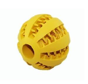 Natural Rubber Toy Ball Dog Dental Treat Bite Resistant Bouncy Balwyn Boroondara Area Preview
