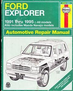 2004 ford explorer service manual pdf