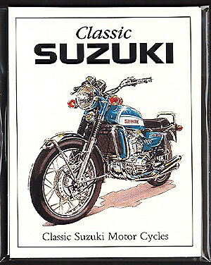 CLASSIC SUZUKI - Collectors Card Set - GT750 GS750 T500 Cobra T20 GT550 RE5