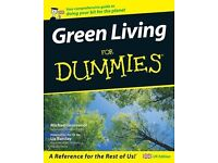 Green Living For Dummies, paperback