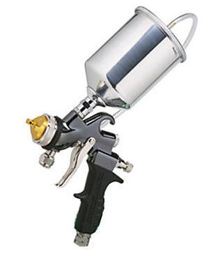 with the apollo atomizer turbine spray gun a consumer can easily spray. Black Bedroom Furniture Sets. Home Design Ideas