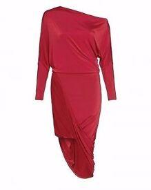 forever unique rebecca red dress