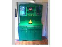 Green Welsh dresser