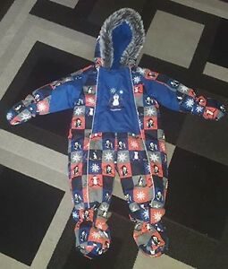 12M Oshkosh Snow Suit