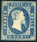 Antieke staten - SARDEGNA 1853 - First Issue Vittorio Emmanu
