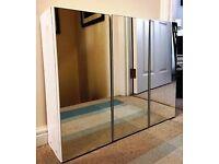Premier 3 Door Mirrored Cabinet