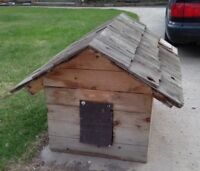 Free Large Insulated Wooden Dog House