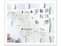 Family Jigsaw Wall Art Photo Frame