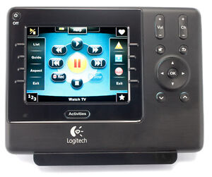 Logitech-Harmony-1100-Touch-Screen-LCD-Universal-Advanced-Remote-Control