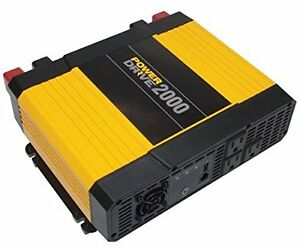 PowerDrive RPPD2000 2000-Watt DC to AC Power Inverter with USB P