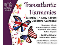 Transatlantic Harmonies: Rutter, Barber, Thompson and Lauridsen