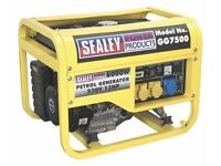 Sealey GG7500 6000w petrol generator