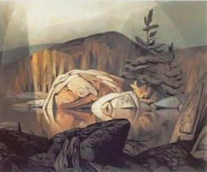 "A.J. Casson ""Autumn, Georgian Bay"" Limited Edition Studio Panel"