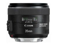 Canon 35mm f/2 IS USM
