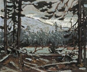 "Tom Thomson ""Woodland Interior"" Limited Edition Studio Panel"