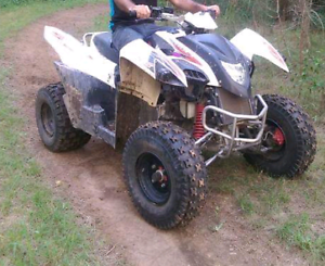 2012 Adly 320s Quad bike 270cc SWAP for boat