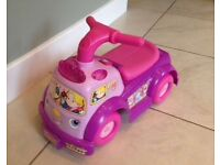 Princess Ride on Fisher Price Lights & Sounds