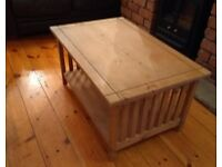 FREE SOLID PINE COFFEE TABLE