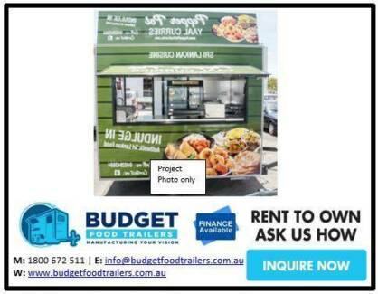 Food Trailer - Indian Food - Double Axle 3.8 Sydney City Inner Sydney Preview