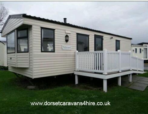Model Holiday Caravan For Hire At Rockley Park Poole Dorset