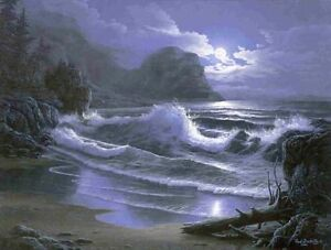 High Surf By Fred Buchwitz