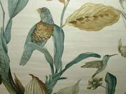 Bird Curtain Fabric