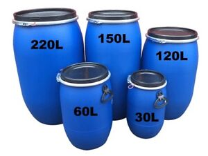 Buy or Rent 30l 60l 120l 150l 220l Canoe Storage Shipping Barrel