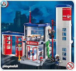 ; Playmobil : Police, ambulance, montagne et Pompier
