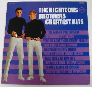 RIGHTEOUS BROTHERS Vinyl Album...Best of...*Blue Eyed Soul* Kitchener / Waterloo Kitchener Area image 1