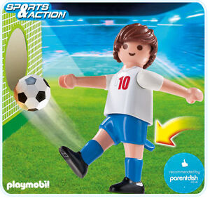 PLAYMOBIL === Sports 4732: Football Player - England === NEW