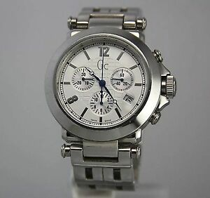 Guess watch chronograph tachymeter stopwatch 100m water resist
