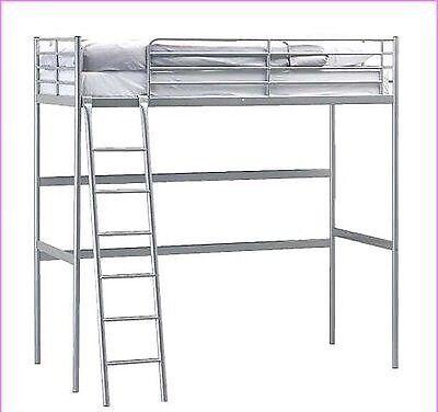 Ikea Metal High Sleeper Bed In East Calder West Lothian