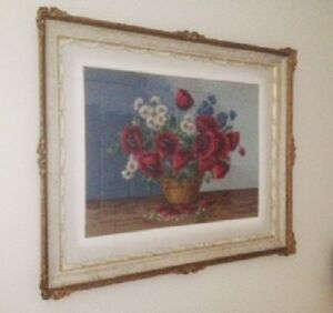 Vintage Needlepoint Tapestry