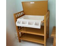 Free for collection - mamas & papas changing table/baby bath