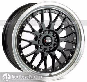 XXR 521 18x8.5 5x114.3 +35 matt black with lip new $850 csah n carry