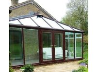 Glass conservatory 18ft x 8ft dismantled