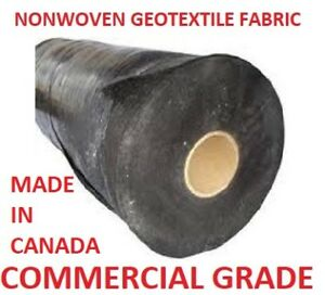 Nonwoven Geotextile / Landscape Fabric * Texel * Made in Canada