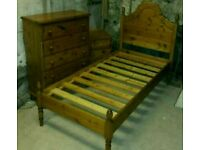 Pine bedroom set
