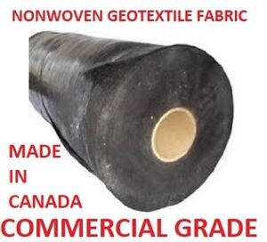 Nonwoven Geotextile Landscape Fabric **Texel** (Made in Canada)