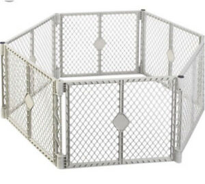 Portable panel small dog pen Excellent shape