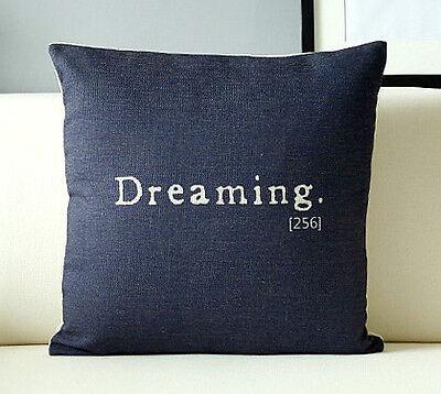 Large abstract animal print Graffiti cotton&linen Sofa cushion case/pillow cover