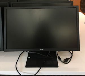 "Acer 24"" Widescreen LED Monitor; 1920x1080 resolution"