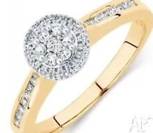**Gold Diamond Ring** Leichhardt Leichhardt Area Preview