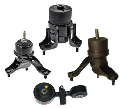 02 06 toyota camry 2 4l engine motor mount set automatic for Toyota camry motor mounts replacement cost