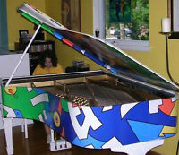 Robin Williams played on this over 100 years old grand piano