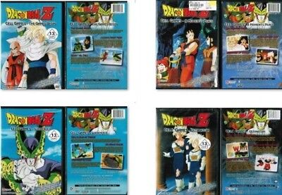Dragon Ball Z New 4 DVD Set From Cell Games Saga Begin Surrender Ultimatum