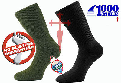 1000Mile Walking Socks All Sizes - Worlds Best socks 100% Blister Free