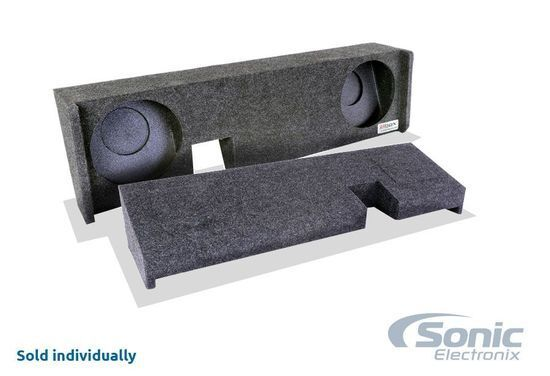 """Bbox A342-10CP Dual 10"""" Subwoofer Enclosure for Select 2009-15 Ford F-150"""