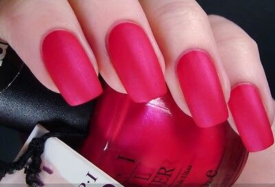 OPI Nail Polish Matte Collection LA PAZ-ITIVELY HOT NM A20 Discontinued -